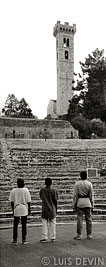 Aka Pygmies at the Fiesole Roman Theatre